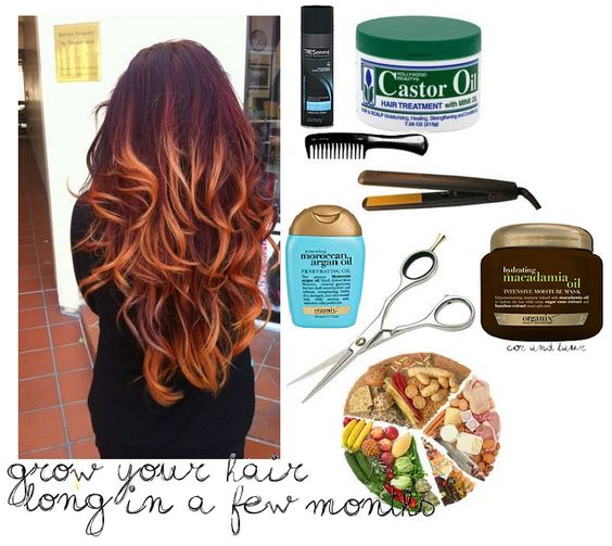 Easy tips to Grow out your hair (: