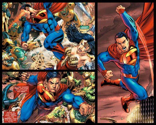 Superman and Wonder Woman- Earth-2