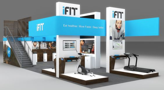 ifit Exhibition Design on Behance
