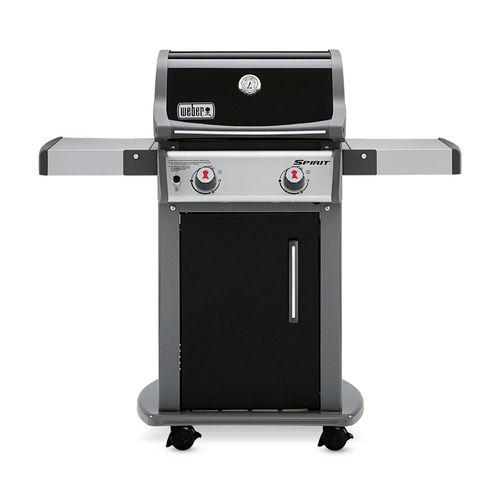 Weber Spirit E 210 Black Porcelain Enamel 2 Burner Liquid Propane Gas Grill Lowes Com In 2020 Propane Gas Grill Gas Grill Gas Grill Reviews