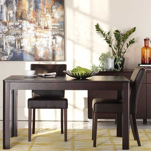 Kasala Modern Basic Wood Dining Table Seattle Bellevue Modern Furniture New Place