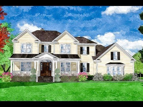 Plan 15248nc Traditional Two Story Home With First Floor Master Two Story Homes House Plans Architectural Design House Plans