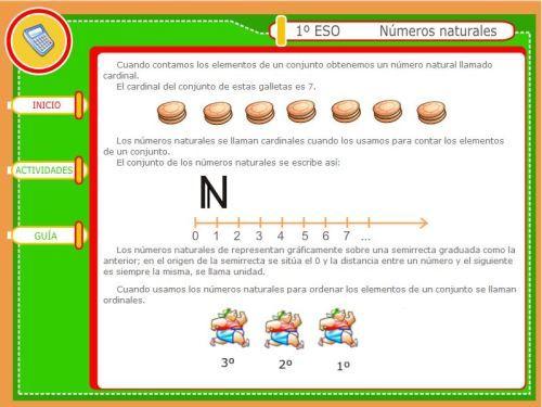Tema 1 Números Naturales Operaciones Numeros Naturales Tema Matematicas