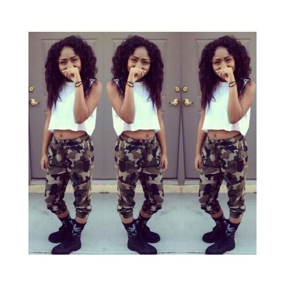 Girl Urban Thug/ Girls With Swag ❤ liked on Polyvore featuring girls and people