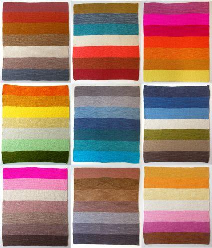 super easy baby blanket in garter stitch http://www.purlbee.com/super-easy-baby-blanket/