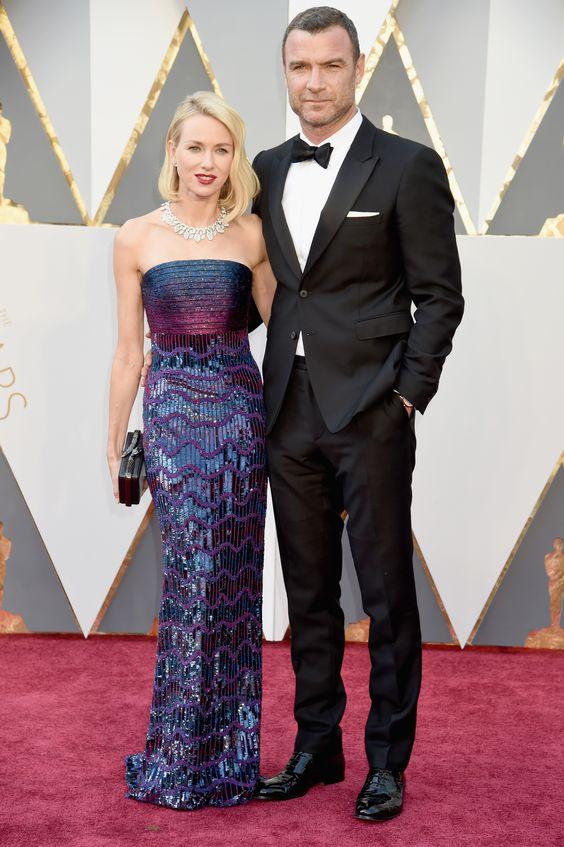 Naomi Watts e Liev Schrieber: