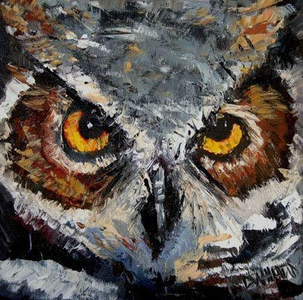 100 Days of Wildlife Diane Whitehead Owl #4 -- Diane Whitehead