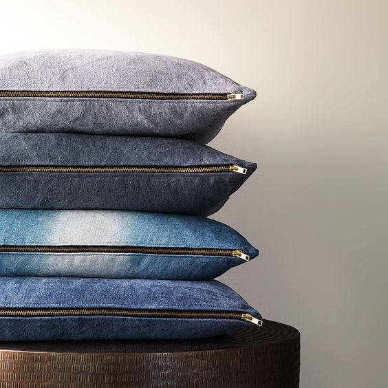 Denim inspired fabrics - Chivasso collection at Jab Anstoetz