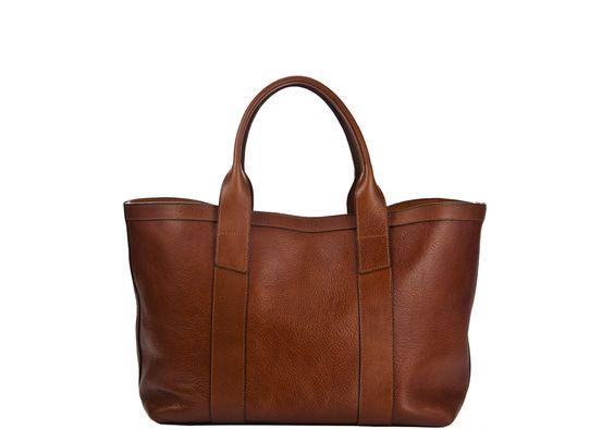 lotuff leather tote