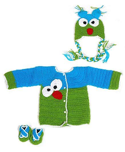 The Original Knit Angry Bird Sweater Set http://www.firstcry.com/the-original-knit/the-original-knit-angry-bird-sweater-set/633795/product-detail
