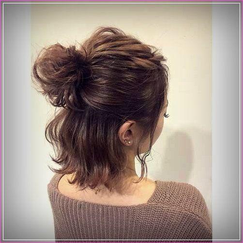Kurze haare zopf Frauen Frisuren