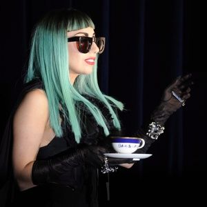 A teacup and saucer used only once by pop diva Lady Gaga sold for more than $75,000 at auction, the sale's organizer said Monday.    With more than 1,300 bids, the weeklong auction finished Sunday with a top offer of ¥6,011,000, according to Yahoo Japan, which managed the charity event.