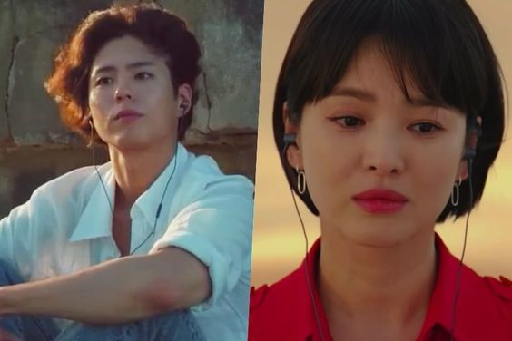 """Watch: Park Bo Gum And Song Hye Kyo Talk About Their Special """"Encounter"""" In New Teaser"""