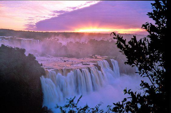 Iguassu Falls, Paraná. Brasil