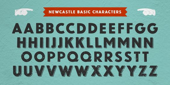 Newcastle™ - Webfont & Desktop font « MyFonts