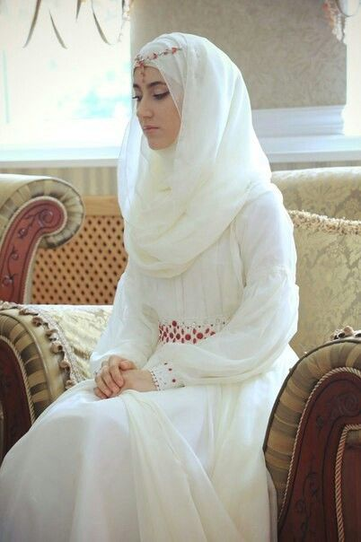 Rever d une robe blanche islam