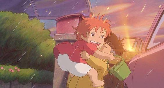 Ponyo et Kosuke