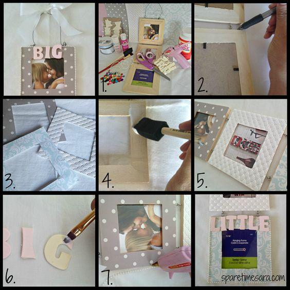 Photo Frame. sparetimesara.com
