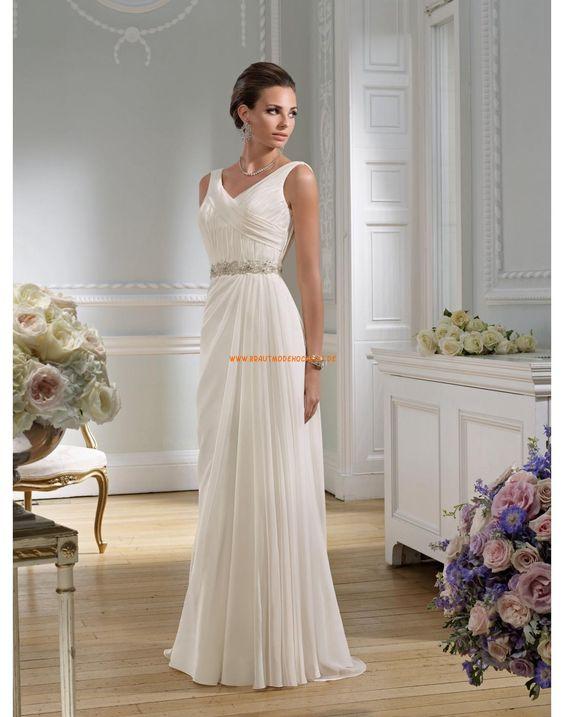 RONALD JOYCE Aktuelle Aparte Brautkleider aus Chiffon