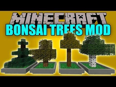 Bonsai Trees Mod Granja De Arboles Con Bonsai V Minecraft Mod 1 12 2 Bonsai Tree Minecraft Mods Bonsai