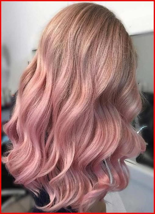 Rose Gold Ombre Hair Color Ideas Somewhere Between Full On Pink