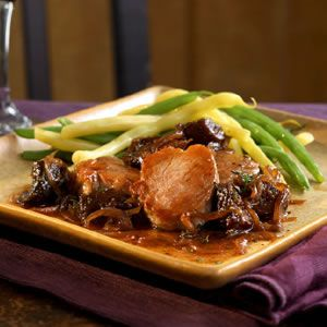 Pork Medallions with Fig & Port Wine Sauce | Recipe | Pork Medallions ...
