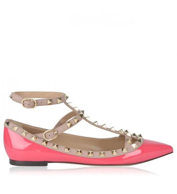 Pretty, pink, pointed. These are the 'I have arrived' shoes.