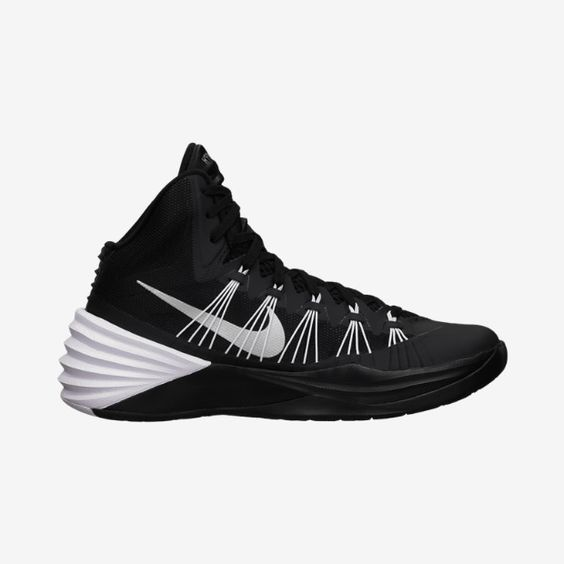 2013 hyperdunks black and white