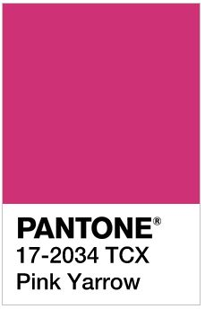 Pantone's Spring 2017 Color Trend Prediction - Pink Yarrow: