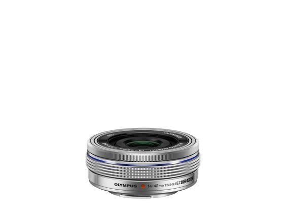 M.ZUIKO DIGITAL ED 14‑42mm 1:3.5‑5.6 EZ Pancake, Olympus, OM-D & Pen Lenses
