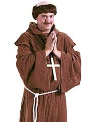 Friar Tuck Monk Medieval Costume