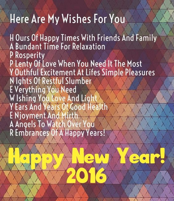 Quotes About Love For Him: New Year 2016 Wishes Quotes