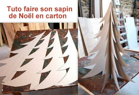 Pinterest the world s catalog of ideas - Comment faire un sapin en carton ...