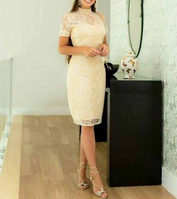 vestidos curtos 2022 de noiva
