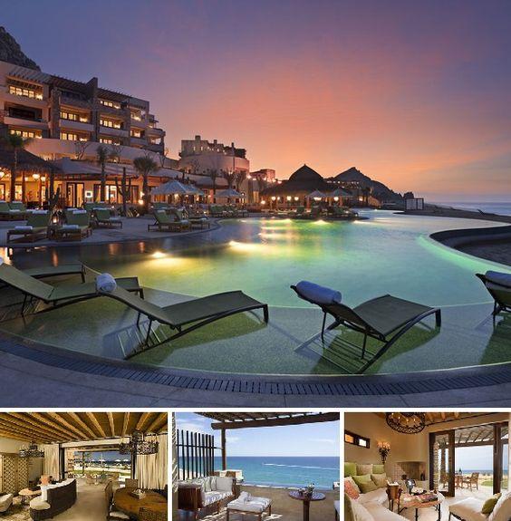 L'hôtel se trouve à la pointe de la péninsule, entre San Jose del Cabo et Cabo San Lucas. Il est accessible par un tunnel privé, unique en son genre au Mexique. Il est à proximité de la marina et à 45 minutes de l'aéroport international de San José del Cabo.