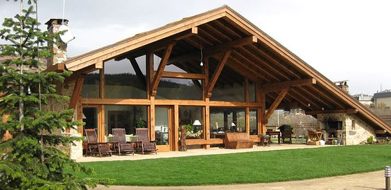 La casa del tejado casa bioclim tica y ecol gica en - Casas en sierra de madrid ...