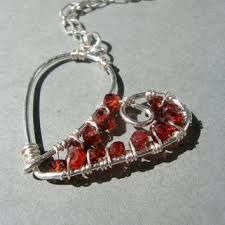 Image result for wired heart jewellry