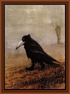 My all time favorite crow art.