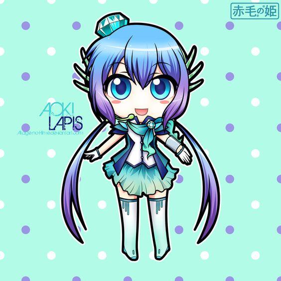 Vocaloid - Aoki Lapis by Akage-no-Hime.deviantart.com on @deviantART