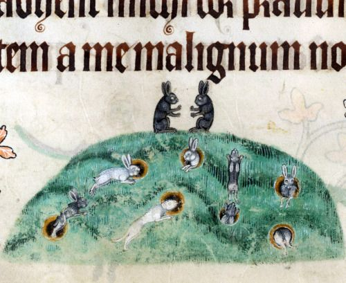 Watership DownLuttrell Psalter, England ca. 1325-1340British Library, Add 42130, fol. 176v