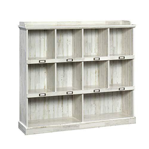 Sauder 423672 Barrister Lane Bookcase White Plank Finish Sauder