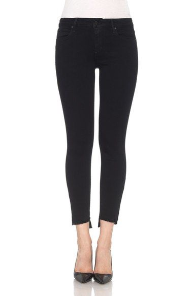 Main Image - Joe's Blondie Step Hem Ankle Skinny Jeans (Regan)