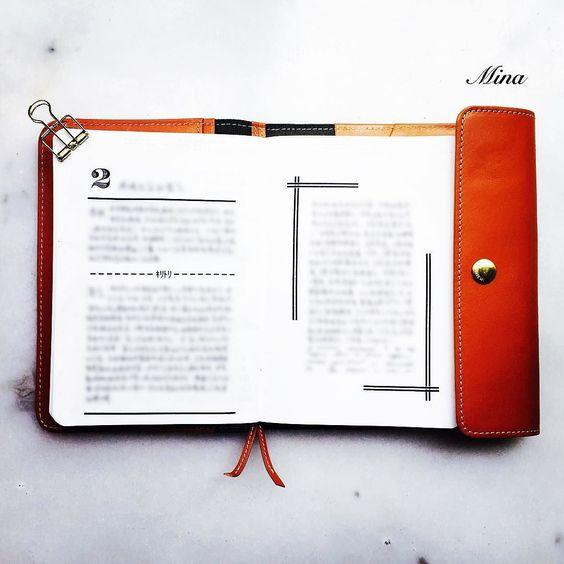 #hobonichi #filofax #washitape #midori #planner #organizer #writing #stationery by forever.mina