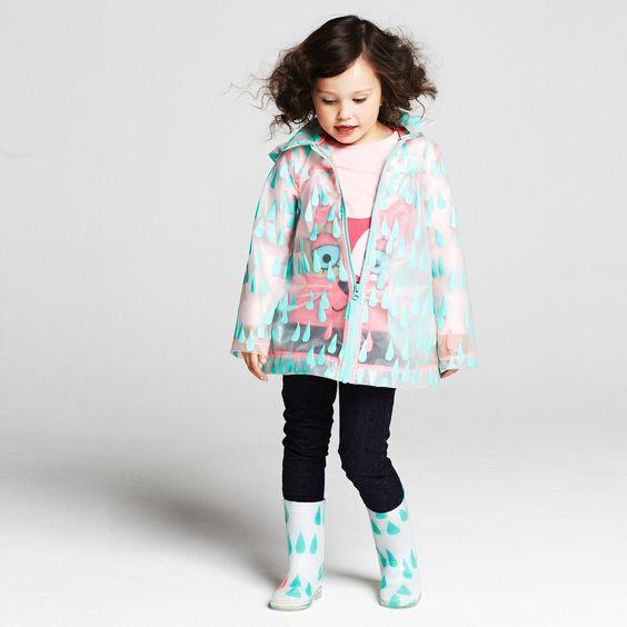 Matching raincoat + boots - Billieblush