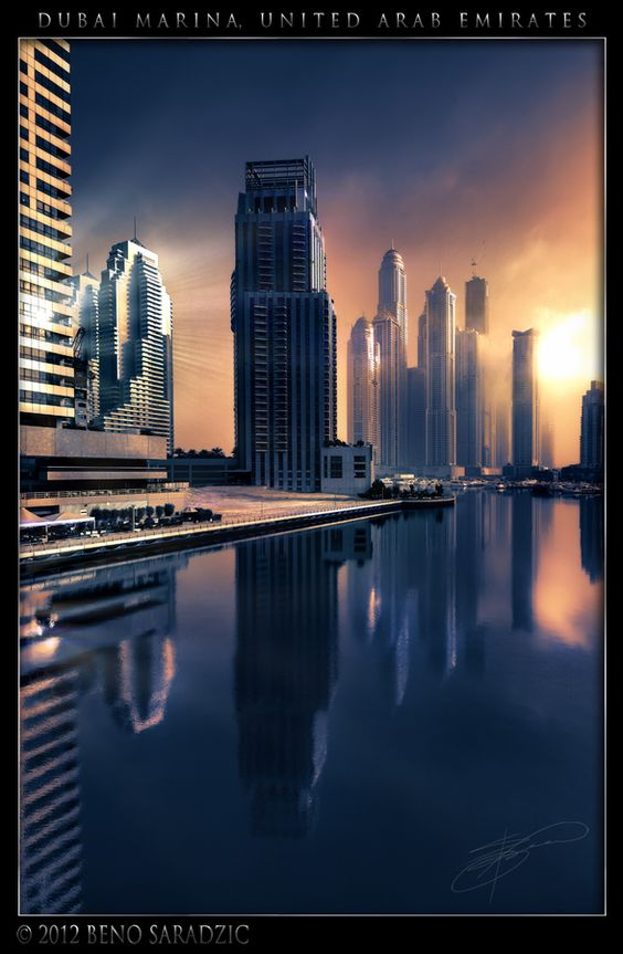 Dubai Marina Fantasy