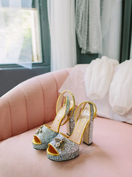 Millie Mackintosh Just Rewore Her Glittery Wedding Shoes See The Pics Wedding Shoes Platform Millie Mackintosh Wedding Millie Mackintosh