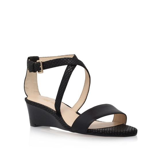 Nine West Lacedress high heel sandals, Black