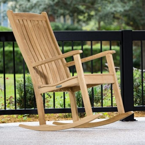 Outstanding Veranda Teak Rocking Chair Teak Chairs And Rockers In 2019 Gmtry Best Dining Table And Chair Ideas Images Gmtryco