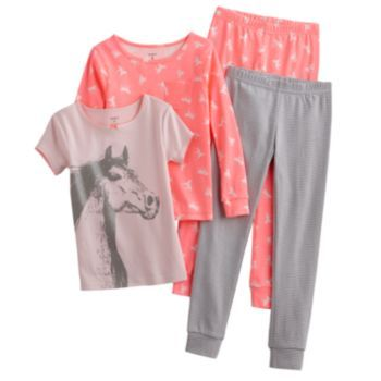 Carter's Horse Pajama Set - Girls | girl clothes | Pinterest ...
