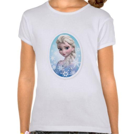 Elsa Snowlake Frame Tees